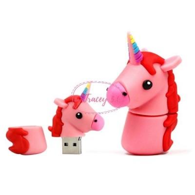 USB-Stick Einhorn pink 2GB